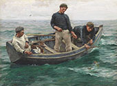 Whiffing in Mount's Bay By Harold Harvey