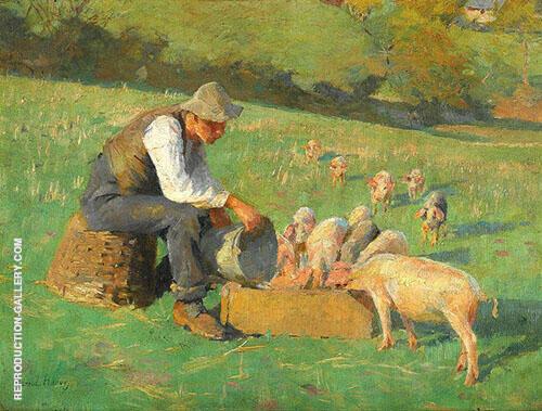Feeding Time By Harold Harvey