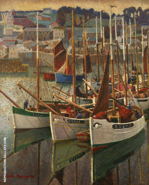 French Crabbers 1930 By Harold Harvey