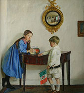 Laura and Paul Jewill Hill 1915 By Harold Harvey