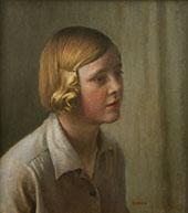 The Artist's Niece 1934 By Harold Harvey