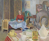 The Unwilling Sitter By Harold Harvey