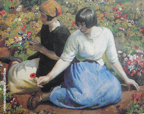 Anemones 1926 By Harold Harvey