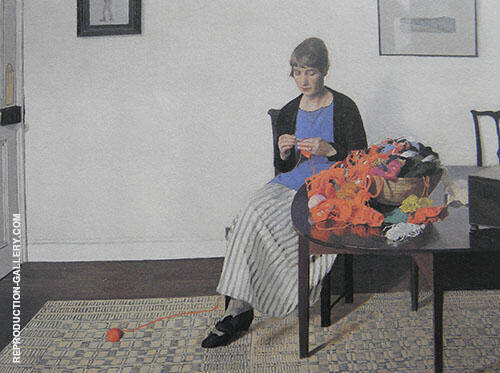 Coloured Wools 1919 By Harold Harvey