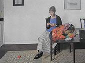 Coloured Wools 1919 By Harold Harvey