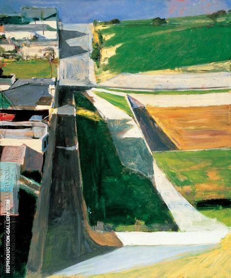 Cityscape 1 By Richard Diebenkorn
