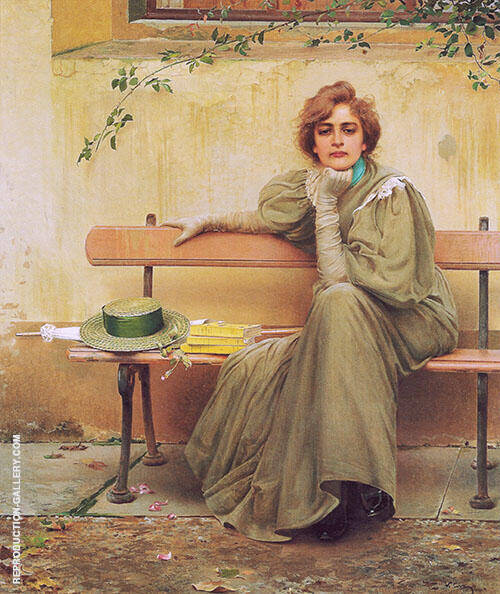 Sogni 1896 Painting By Vittorio Matteo Corcos - Reproduction Gallery