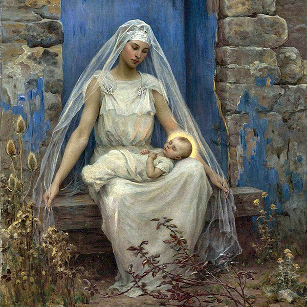 Oil Painting Reproductions of Virginie Demont Breton