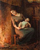 Her Man is at Sea 1889 By Virginie Demont Breton