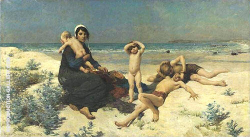 The Beach By Virginie Demont Breton