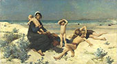 The Beach By Virginie Demont Breton