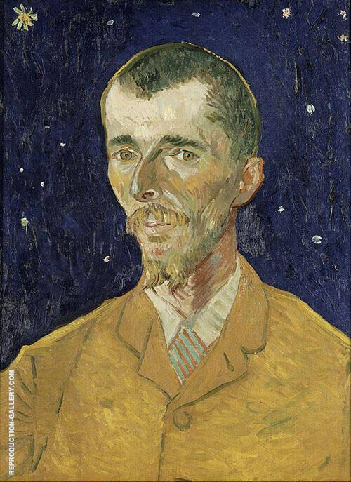 Eugene Boch 1888 By Vincent van Gogh