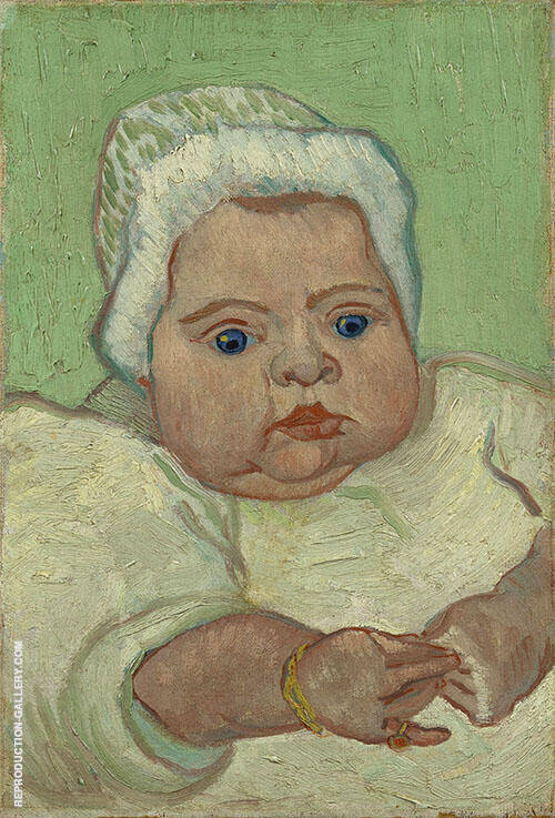 Portrait of Marcelle Roulin 1888 By Vincent van Gogh