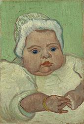 Portrait of Marcelle Roulin 1888 By Vincent van Gogh