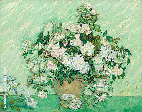 Roses Painting By Vincent van Gogh - Reproduction Gallery