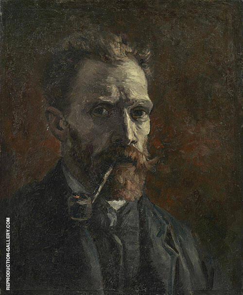 Self Portrait 1886 By Vincent van Gogh