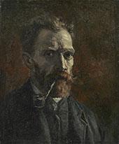 Self Portrait 1886 By Vincent van Gogh