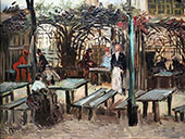 Terrace of a Cafe on Montmartre By Vincent van Gogh