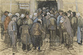 The Poor and Money By Vincent van Gogh