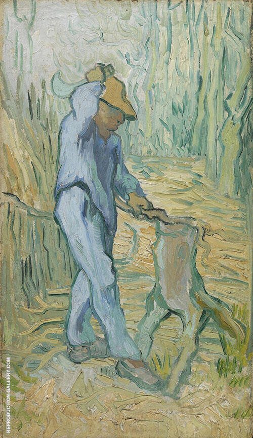 The Woodcutter after Millet By Vincent van Gogh