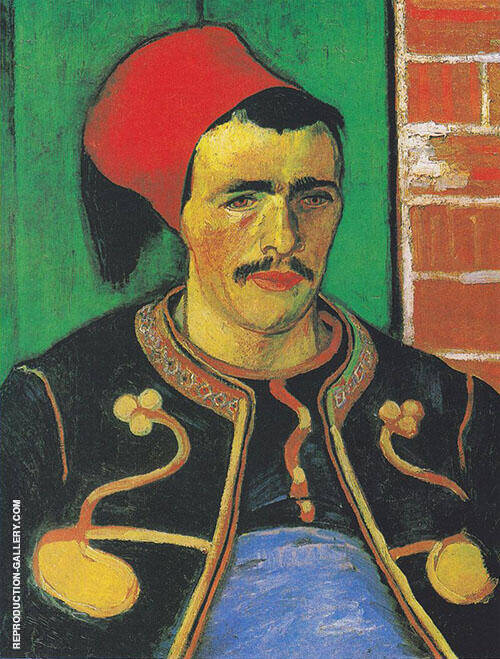 The Zouave 1888 By Vincent van Gogh