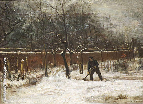 Winter 1885 Painting By Vincent van Gogh - Reproduction Gallery