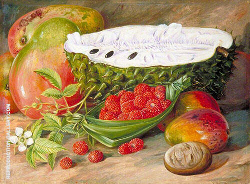 Fruit Grown in The Seychelles 1883 By Marianne North