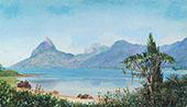 Lagoa de Freitas Near Rio Brazil 1880 By Marianne North