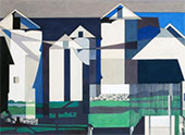 On a Connecticut Theme c 1958 By Charles Sheeler