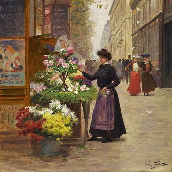 Oil Painting Reproductions of Victor Gabriel Gilbert