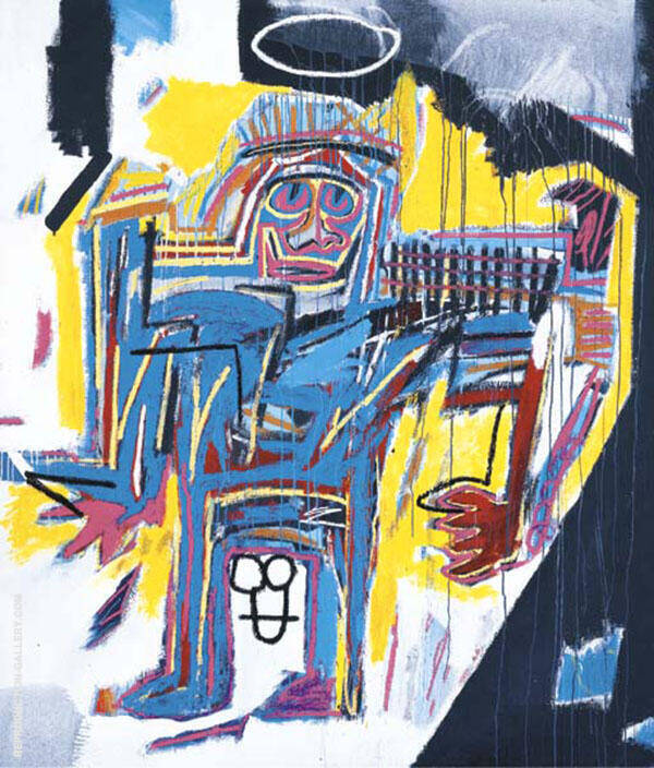Pater 1982 By Jean-Michel-Basquiat