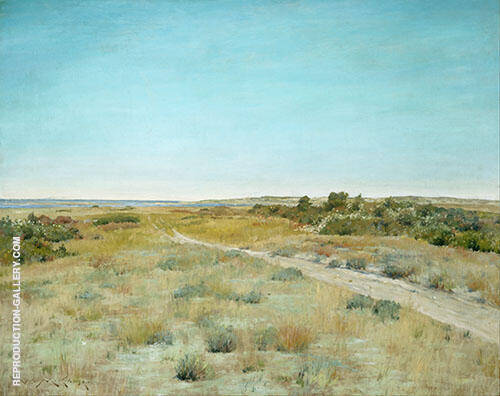 First Touch of Autumn Painting By William Merritt Chase