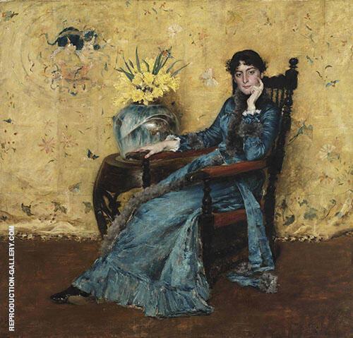 Portrait of Miss Dora Wheeler 1883 By William Merritt Chase