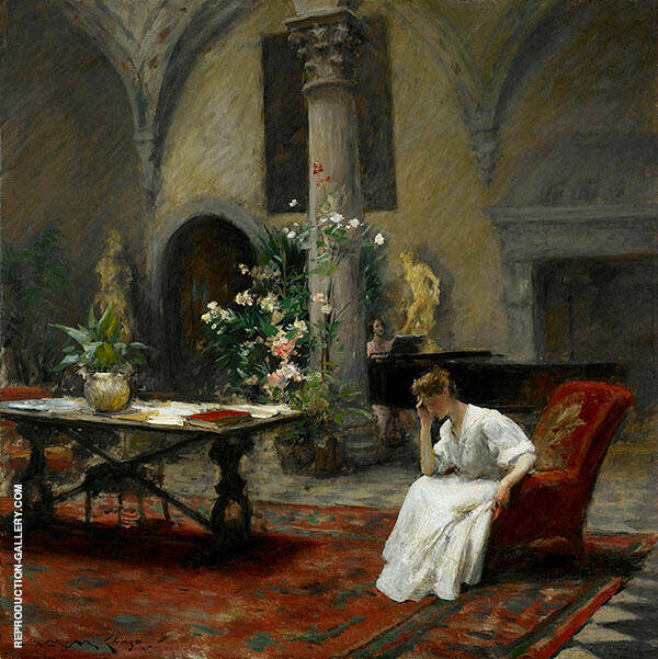 The Song 1907 By William Merritt Chase
