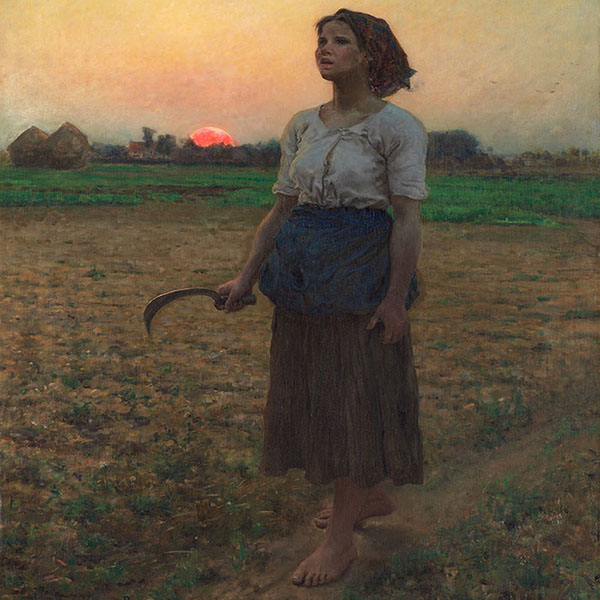 Oil Painting Reproductions of Jules Breton