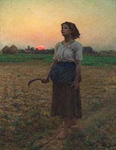 Song of the Lark 1884 By Jules Breton