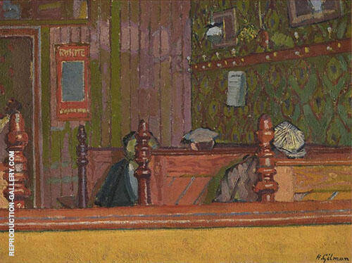 An Eating House 1913 By Harold Gilman