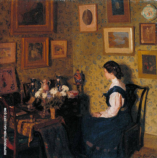 Edwardian Interior c1907 By Harold Gilman