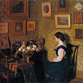 Edwardian Interior c1907 By Harold Gilman