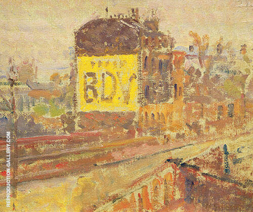Hampstead Road B.D.V c1910 By Harold Gilman