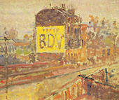 Hampstead Road B.D.V c1910 By Harold Gilman