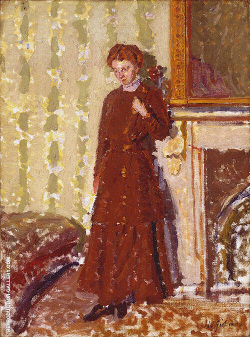 Madeleine Knox c1910 Painting By Harold Gilman - Reproduction Gallery
