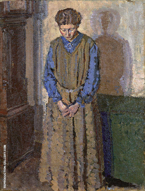 Meditation 1910 Painting By Harold Gilman - Reproduction Gallery