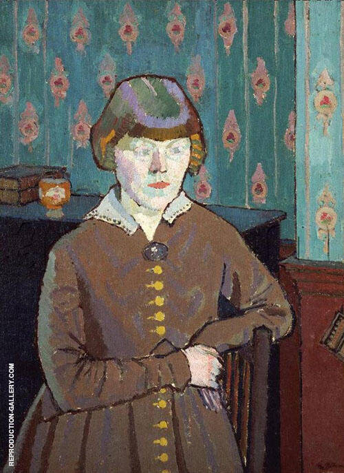 Miss Ruth Doggett c1915 By Harold Gilman