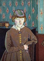 Miss Ruth Doggett c1915 By Harold Gilman