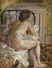 Nude on a Bed c1911 By Harold Gilman