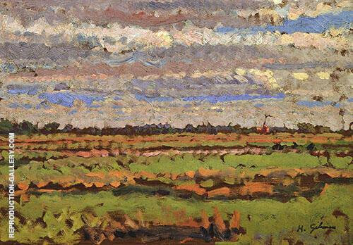Romney Marsh c1910 By Harold Gilman