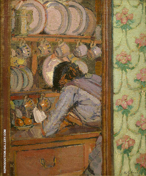The Shopping List c1912 By Harold Gilman