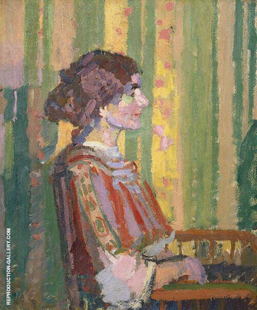 Stanislawa De Karlowska By Harold Gilman