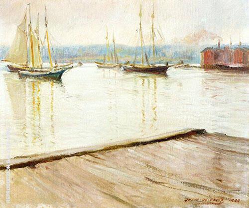 At Gloucester 1900 By Joseph de Camp
